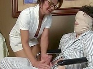 Hot Nurse Milf Handjob
