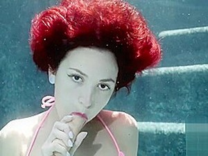 Lola Fae Underwater Play
