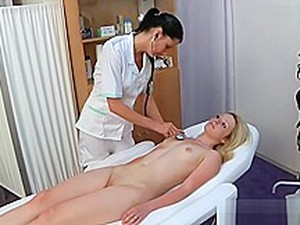 Nina Gyno Exam (Part 1 Of 2) With Heartbeat