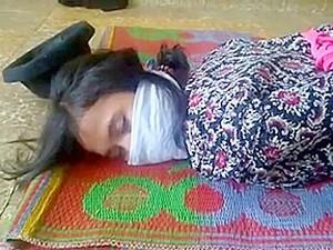 Indonesia OTM Gagged Girl