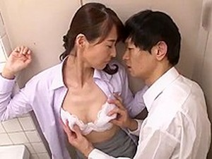 Young Boy Fucks Japanese Mature Mom 3