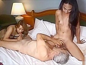 Ladyboy For A Couple Cuckolding