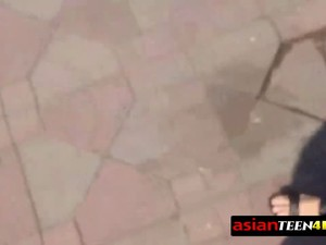 Asian Cutie Gets Taken To The Hotel Room To Have Nasty Fun