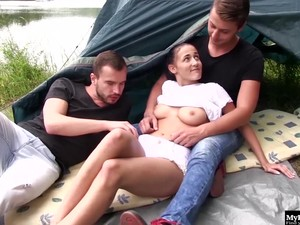 Nicole Love Likes To Go Camping On Her Holiday.