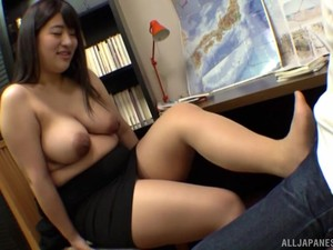 Chubby And Busty Ayukawa Miku Shows Her Fucking Skills To Her Friend