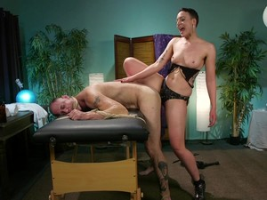 Short Haired MILF Lilith Luxe Pegs A Guy And Rides His Cock