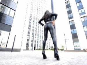 Ultimate Wetlook Leather Legging Compilation