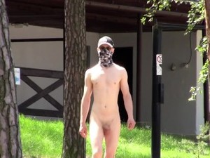 PUBLIC ERECTION - NUDIST BEACH