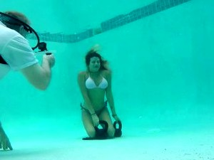 Tanya Underwater Audition - Part 1