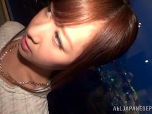 Yukino Kawai Toys Her Asian Twat And Enjoys MMF Sex