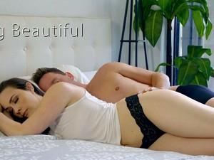 Attractive Dark Haired Girlfriend Chanel Preston Enjoys Morning Mish