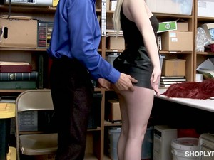 Caught Red Handed Blondie Darcie Belle Gets Punished Mish By Lewd Cop