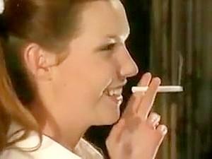 Woman Smoking Fetish