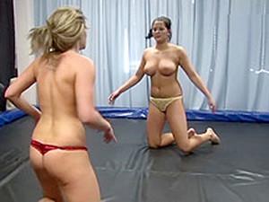 Sweaty Wrestling 1