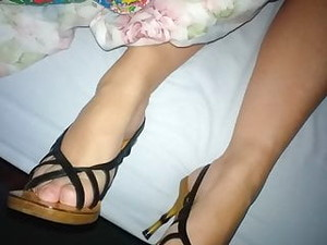 Cum On Feet In Shoes