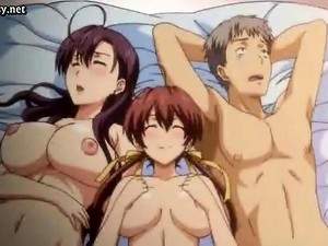 Busty Anime Babes Get Pleasured