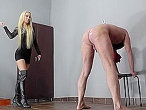 Punished With The Riding Crop