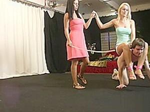 Riding A Naked Slave