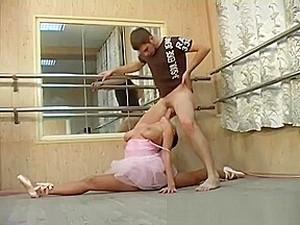 Young Busty Ballerina Needs Hard