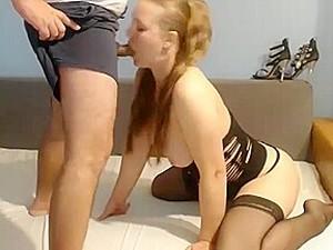 Sexy Girl Sucks (and Smokes)