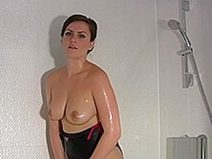 BDSM,İngiliz pornosu,Duş,Tekli,Mayo