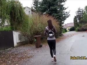 Teen Fucked In Public For Cash