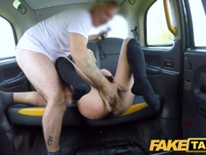 Fake Taxi Sexy Blonde Barbie Sins Gets Anally Stretched