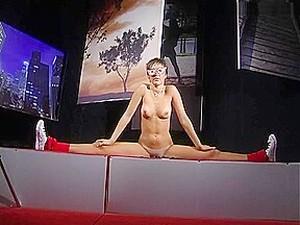 Flexible Teen Shows Her Talents