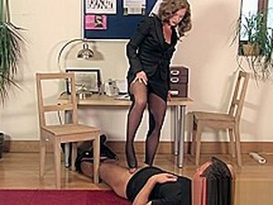 TheEnglishMansion - Lady Boss Shoejob Humiliation
