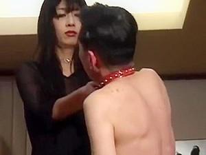 Japanese Tall Lady Vs Short Man