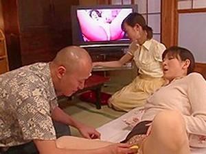 Aja1 Asain Threesome With New Girl