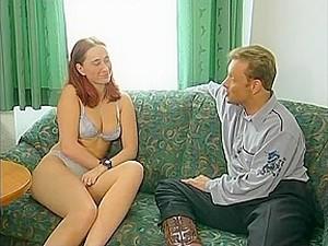 Porno Alemán,Pelirrojas,Medias largas,Estriper