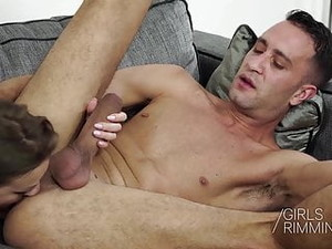 Petite Lilit Sweet Giving A Hot Rimjob To Her Lucky Neighbor