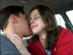 Got This Horny Teen Russian Girl In The Car For Dirty Quickie