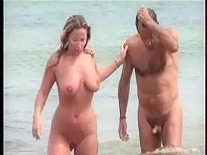 Undressed Beach Voyeur Two