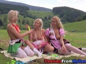 Dutch Teenager Sperm Soak