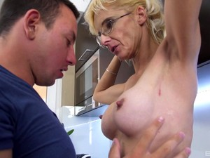 Long Kitchen Fucking With Slut Wife And Husbands Best Friend