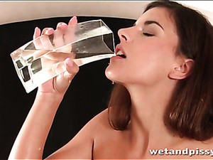 Pissing And Food Play With Two Hot Chicks