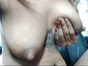 Really Cute Girl & Tits, Full Of Tasty Milk