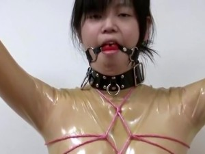 Rubber Girl In Breathplay