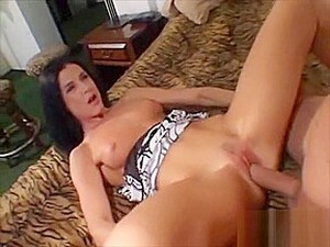 This Brunette Is Beautiful And Ready To Gag