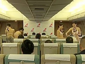 Half Naked Stewardesses