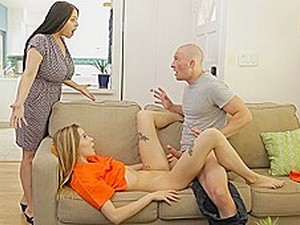 Mommy Brunette Caught My Daughter Beauty With A Member Of Her Husband ...