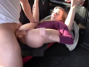 Hot Teen Angel Emily Sucks And Fucks Taxi Drivers Cock