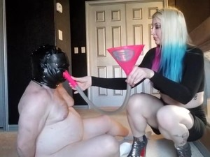 Kicking A Slave In The Balls With The Shoes It Bought Me