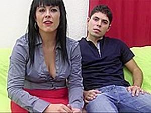 Latina MILF Taking A Pounding