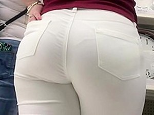 Italian Fat Ass White Jeans