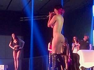 Nude Stage Program Show