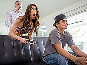 Dana Wolf & Keiran Lee In Game Over Man - BRAZZERS