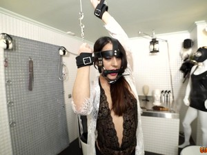 Luca Nieto Loves When She Is Tied Up, Gagged And Dominated By Her Man